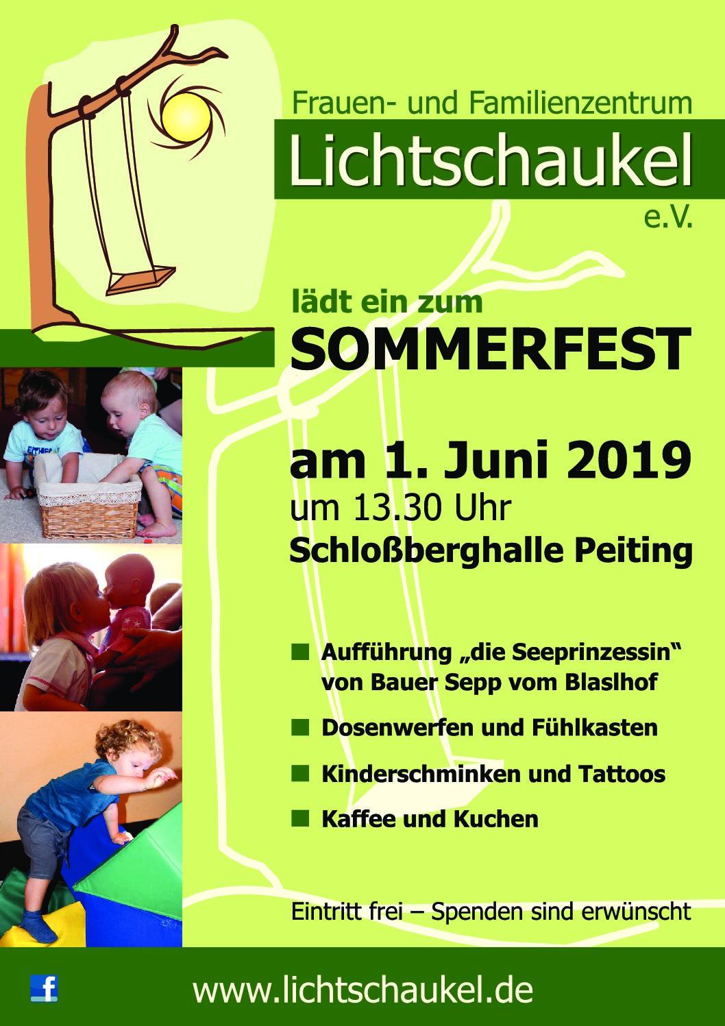 Sommerfest am 01.06.2019